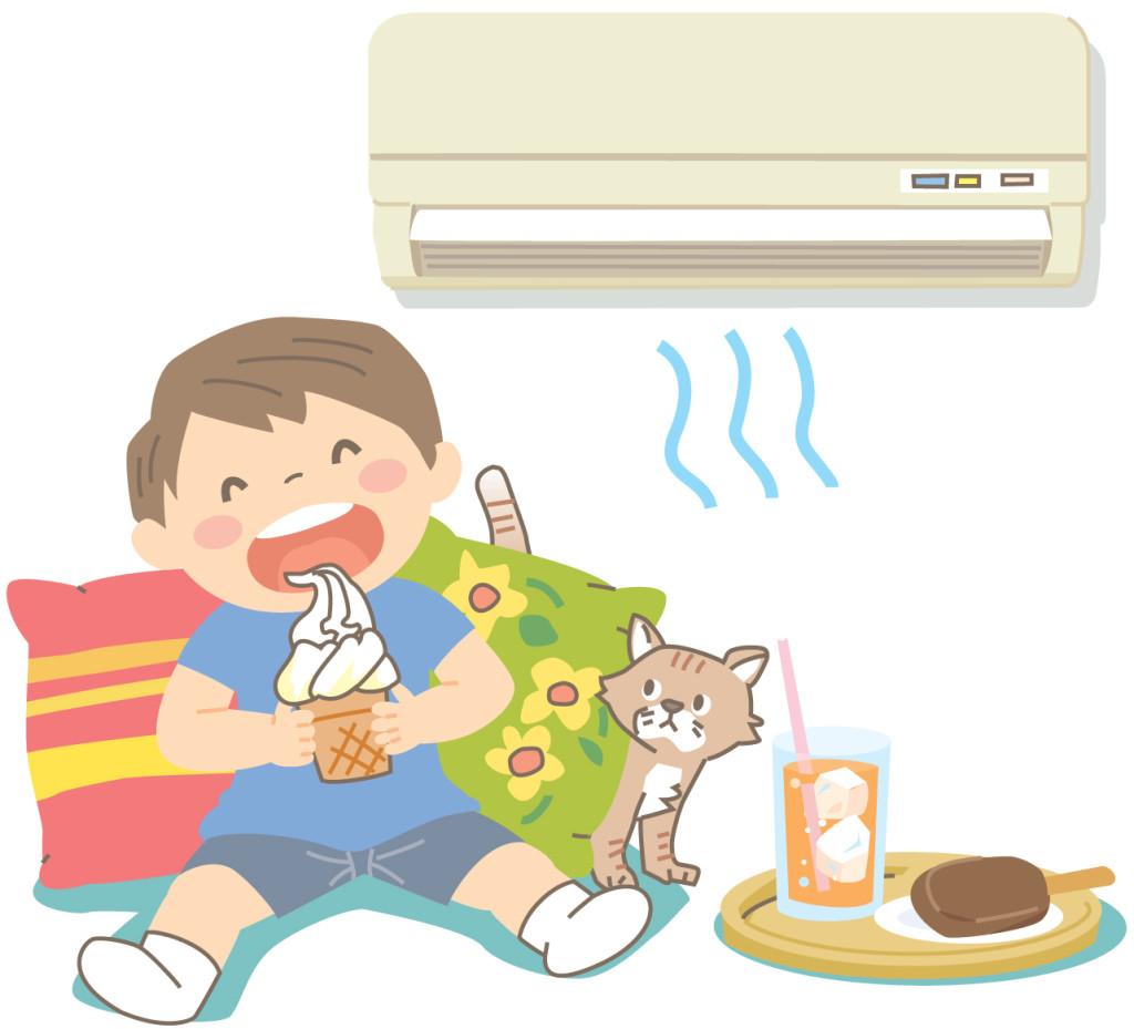 住宅の温熱環境が良いとアイスがおいしい