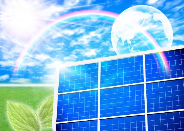ソーラーパネル等の画像