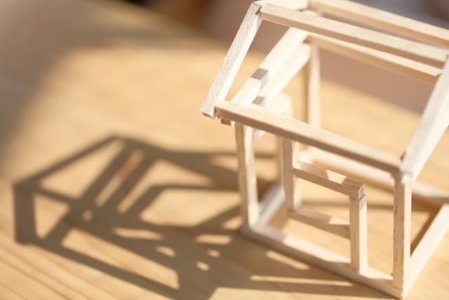 家の模型、木造住宅イメージ1