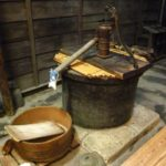 井戸水は常に16~18℃!夏は冷たく感じ、冬は暖かく感じる!